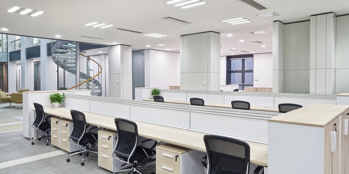 תאורה לבנה למשרדים
